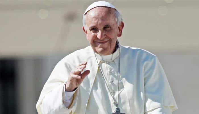 Pope Francis urges nuclear disarmament, climate-change solutions