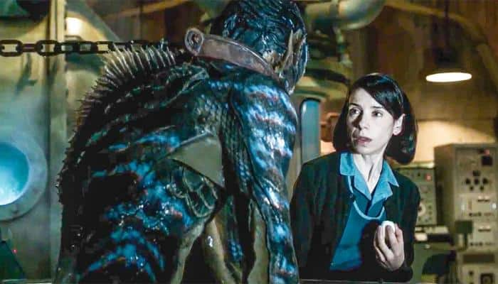 'The Shape of Water' leads Golden Globes nominations