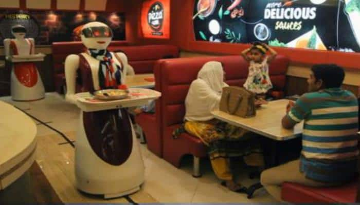Chennai restaurant employs robots to serve you food