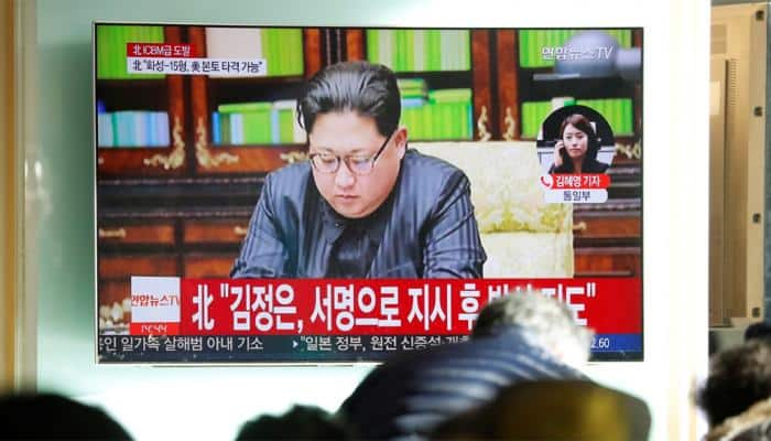North Korea's Kim Jong-Un vows to `win victory in the showdown` with US