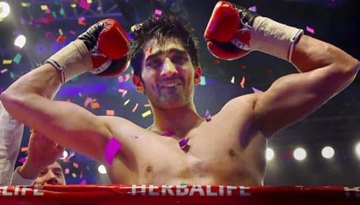 Undefeated Vijender Singh aims 10-0 against Ernest Amuzu