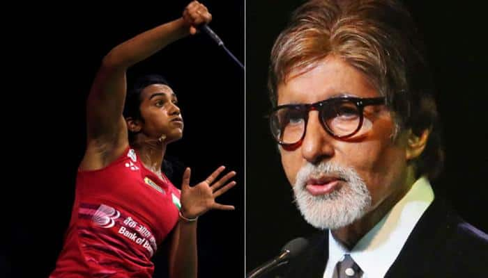 Amitabh Bachchan consoles PV Sindhu after BWF Superseries Finals defeat