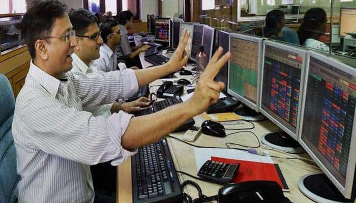 Sensex, Nifty end at record closing highs as BJP bags Gujarat, Himachal