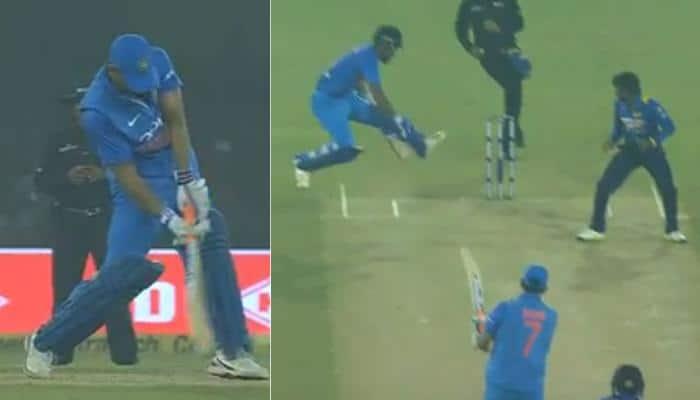 India vs Sri Lanka, 1st T20I: KL Rahul comes in MS Dhoni's firing line, survives — Watch