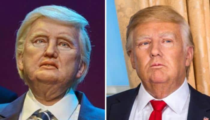 Disney unveils robot Donald Trump, Twitter ridicules calling it 'nightmarish'