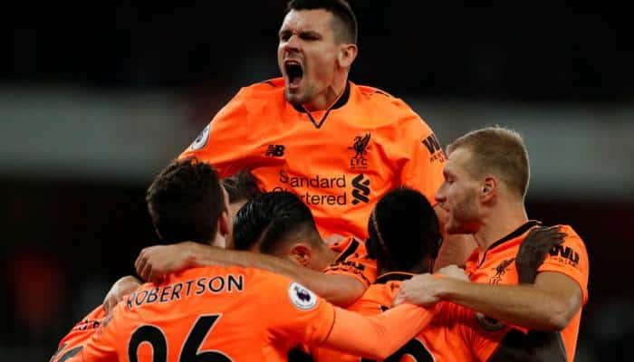 EPL: Arsenal and Liverpool share the honours in six-goal fiesta