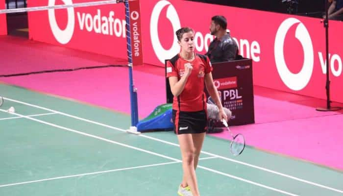 PBL 2017: Carolina Marin inspires Hyderabad Hunters to their first victory