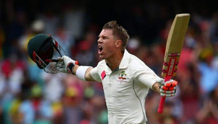 Ashes: David Warner survives 'nervous 99' to score century in Boxing Day Test