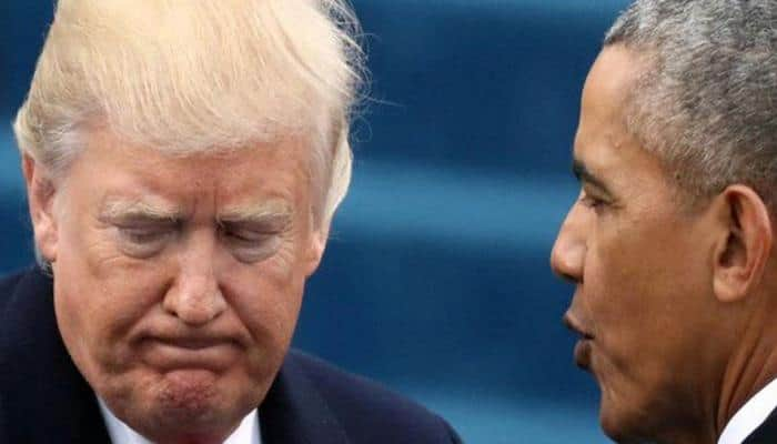Donald Trump's approval rating same as Barack Obama in first year at office