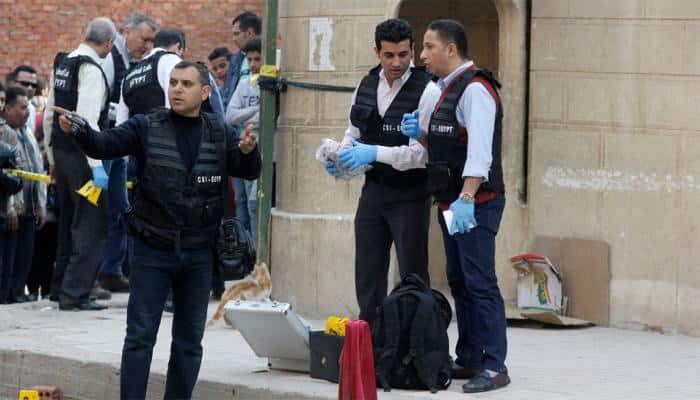 Ten killed in terror attack outside church in Egypt's Cairo