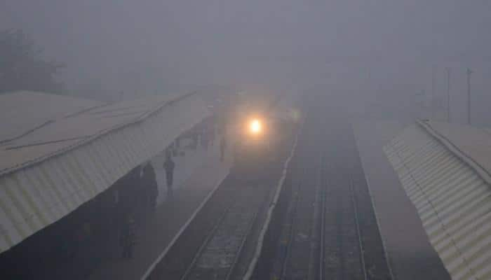 Dense fog in Delhi; 36 trains delayed, 13 cancelled due to low visibility