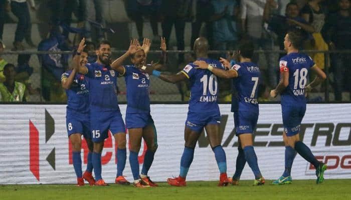ISL 2017: Mumbai City FC hammer Delhi Dynamos 4-0 in ugly clash
