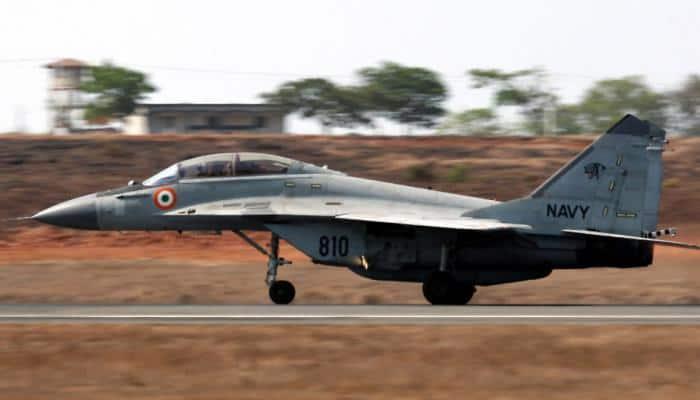 Navy's MiG-29K aircraft veers off runway at Goa airport