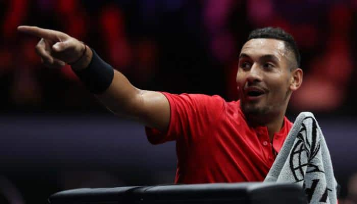 Brisbane International: Nick Kyrgios battles past Grigor Dimitrov, to set up a final against Ryan Harrison