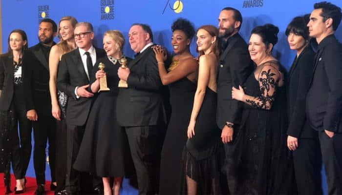 Golden Globes 2018: Hollywood celebrities dazzle in black