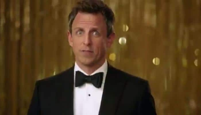 Golden Globes 2018: Seth Meyers rips into Hollywood sex scandal