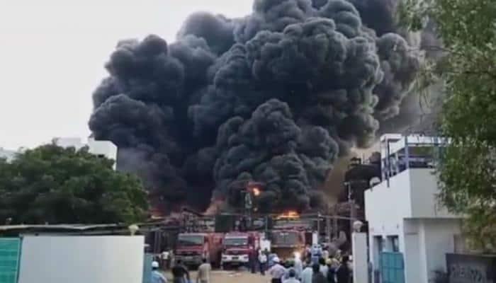Major fire at chemical plant in Vadodara, fire brigades reach spot