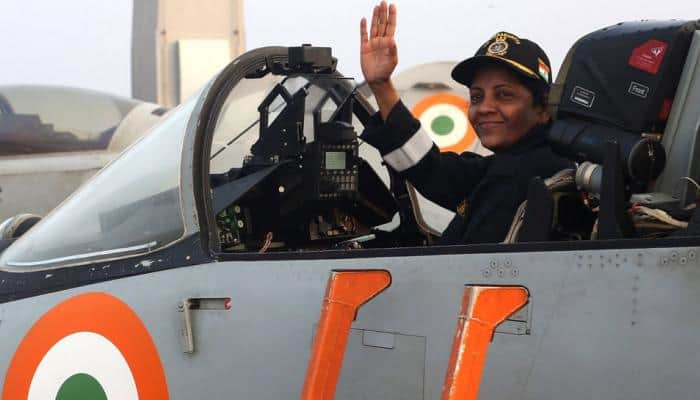 WATCH: With Sitharaman onboard, Navy displays INS Vikramaditya's might