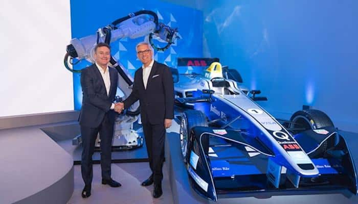 ABB partners with Formula E for first e-car championship
