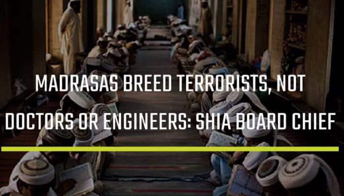 'Madrasas produce terrorists': Jamiat Ulama-i-Hind sends legal notice to Shia Board's Wasim Rizvi