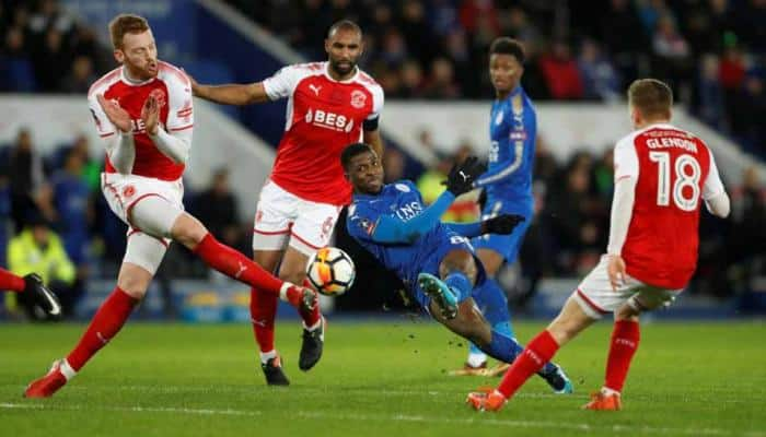 Leicester through in FA Cup as VAR gives first goal in England