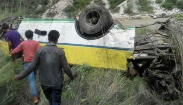Shimla: Car rolls down 150-ft deep gorge, 3 killed