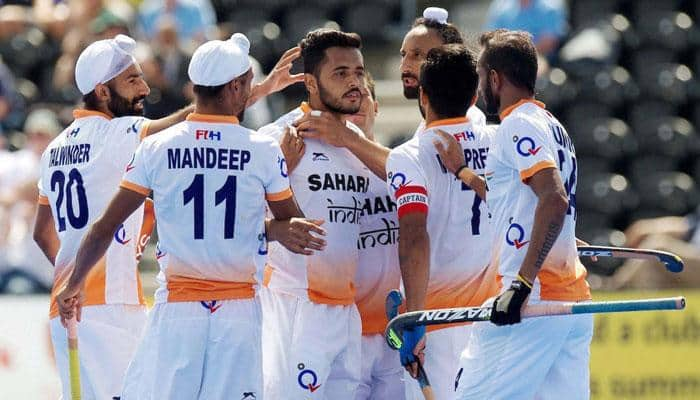 India see off New Zealand to set up Belgium final in Four Nations hockey