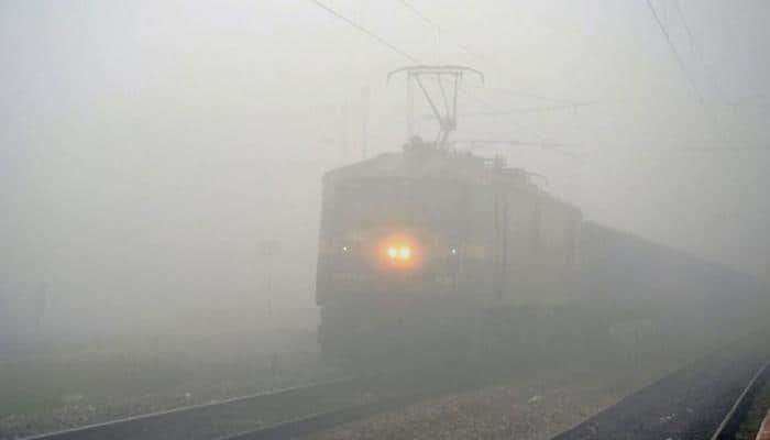 Fog grips Delhi, several trains delayed due to poor visibility