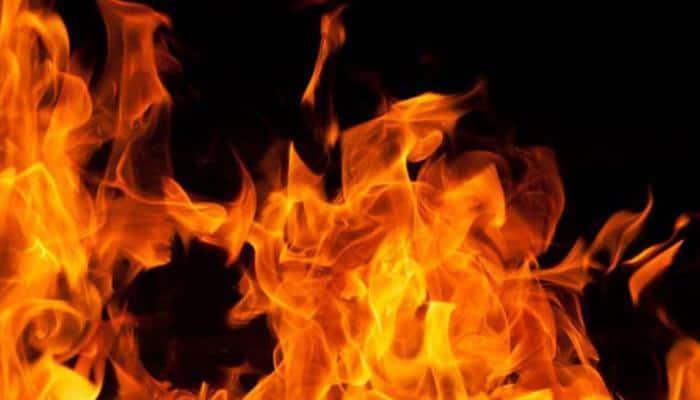 Kolkata: Fire breaks out in Dum Dum's Gora Bazaar, 1 guard burnt alive