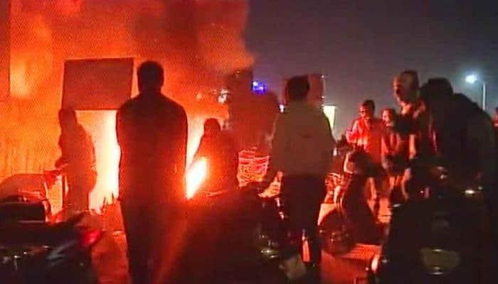 Protests against Padmaavat turn violent in Ahmedabad; shops vandalised, vehicles torched