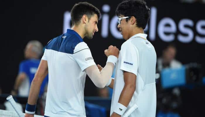 Australian Open: Hyeon Chung becomes South Korea's first grand slam semi-finalist