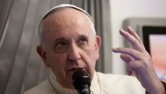 'An evil': Pope Francis takes aim at 'fake news', social media abuse
