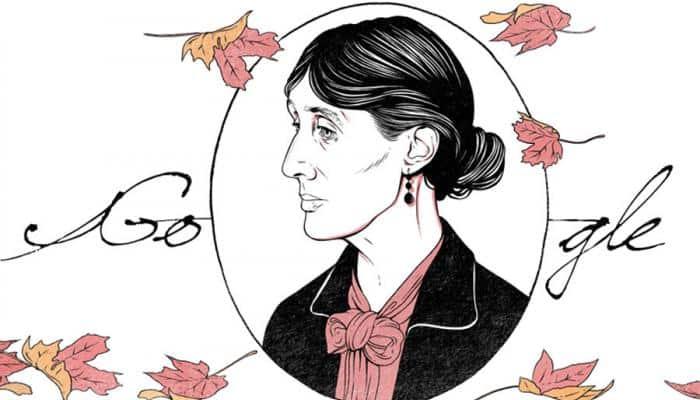Google Doodle celebrates 136th birthday of novelist Virginia Woolf