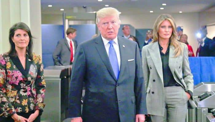 Nikki Haley slams 'highly offensive' rumours of affair with Donald Trump