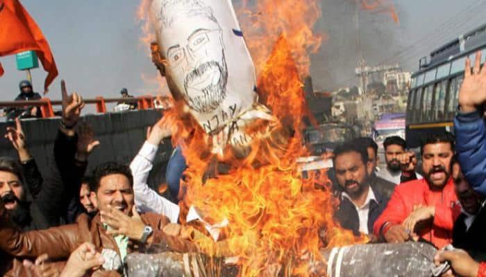 Gurugram Karni Sena chief, 38 detained; SIT to probe attack on school bus