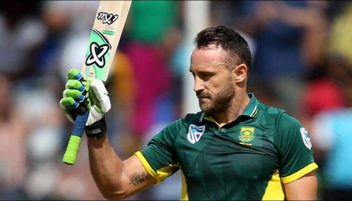 India vs South Africa: We don't get green tracks in India, Faf du Plessis on pitch furore