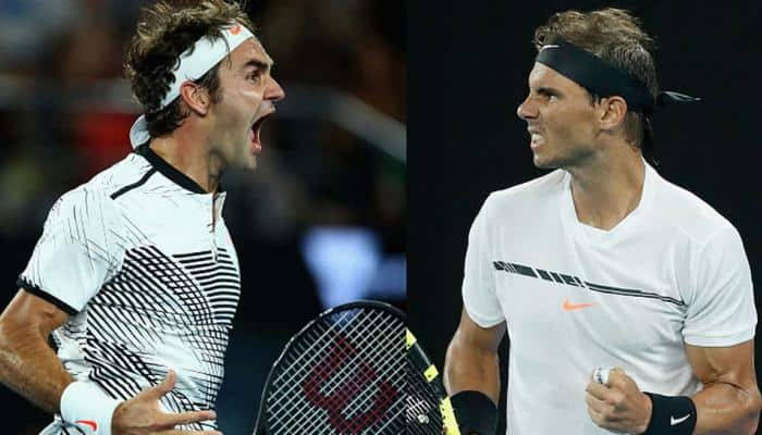 Roger Federer on Rafael Nadal's heels in ATP rankings