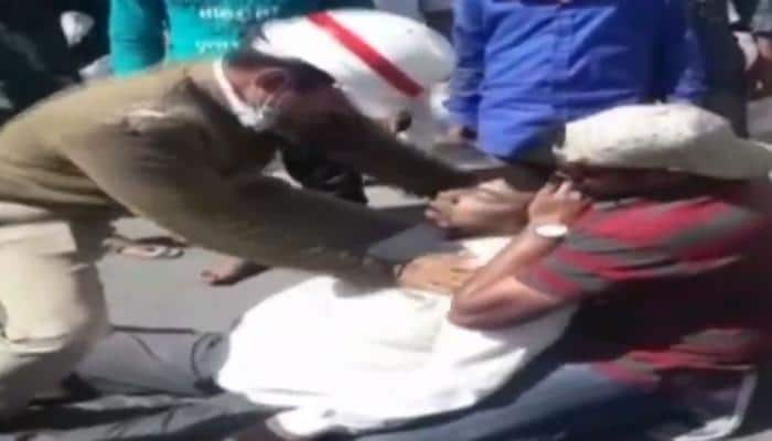WATCH: Traffic personnel pump heart, save man who suffered heart attack