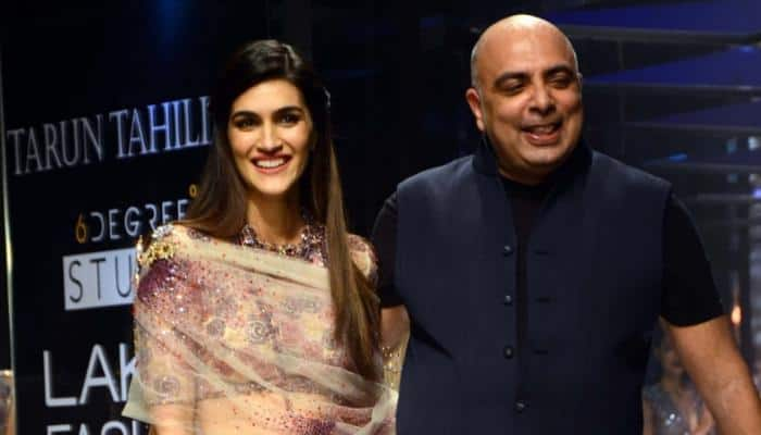 Kriti Sanon's bridal look ends Tarun Tahiliani's Lakme Fashion Week show on a dreamy note—See pics
