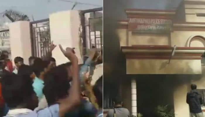 Odisha: 200 locals set police station on fire over custodial death of prisoner