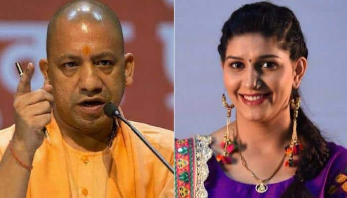 Rift in UP BJP over Yogi Adityanath's photo on tickets for Sapna Chaudhary's Kanpur event