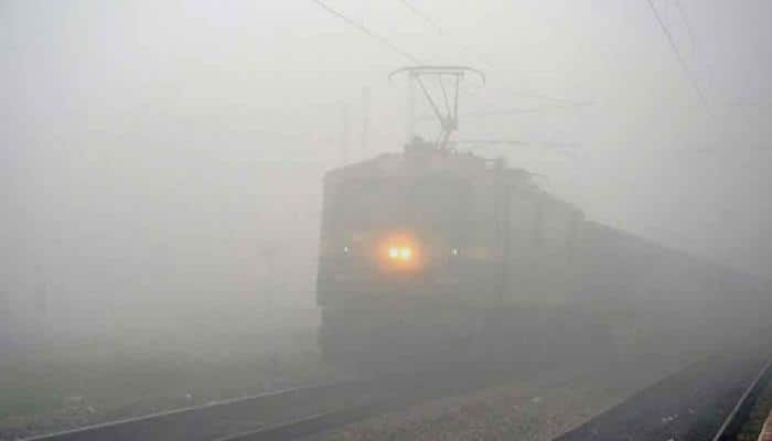 Cold waves grips Delhi,12 trains cancelled