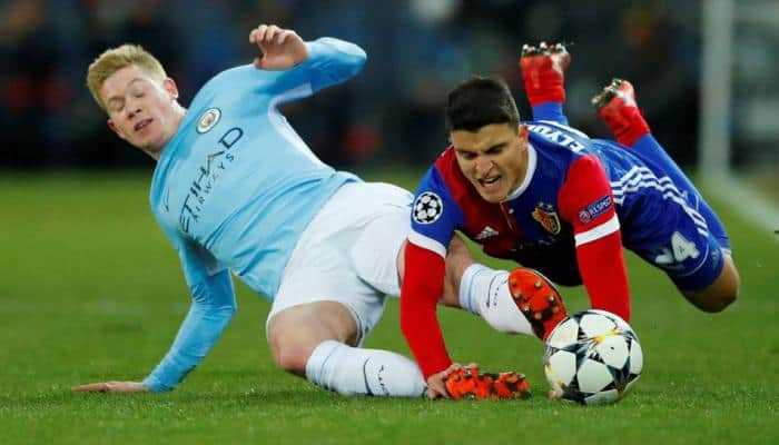 Champions League: Ruthless Manchester City finish off Basel in 23 minutes