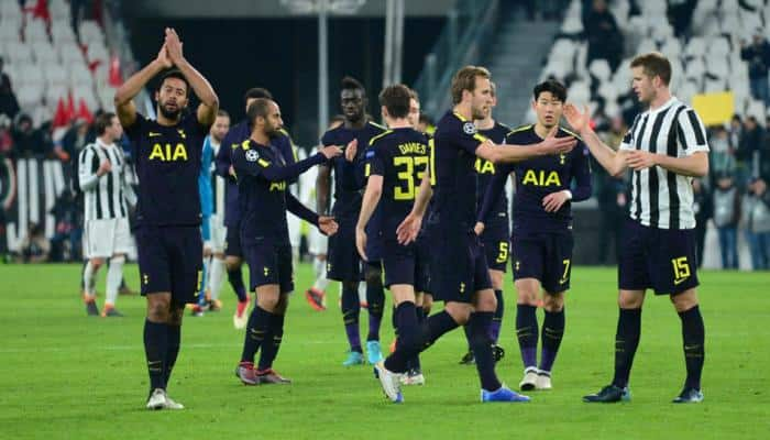 Champions League: Tottenham Hotspur battle back to earn 2-2 draw at Juventus