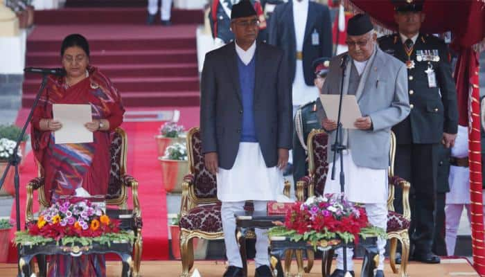 KP Sharma Oli sworn in as Nepal PM for second time