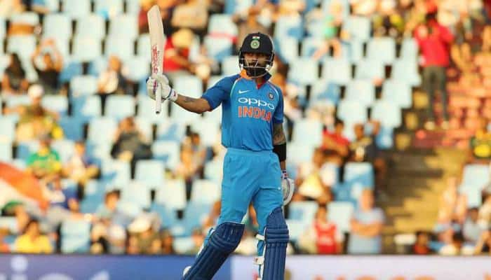 Virat Kohli first to score 500 runs in a bilateral ODI series