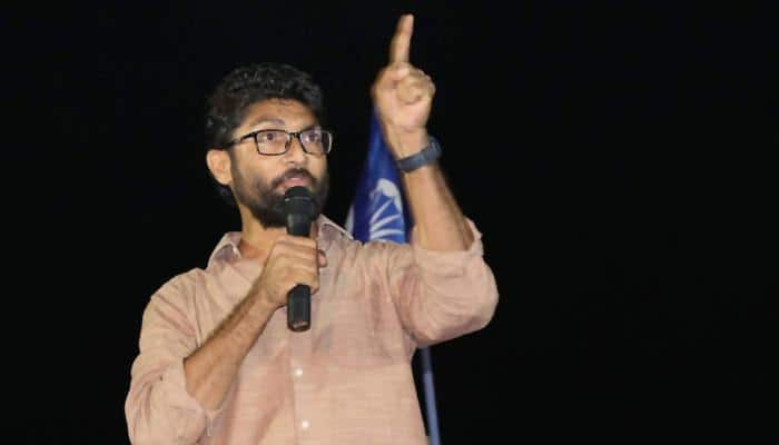 Jignesh Mevani detained in Gujarat after Ahmedabad bandh call over Dalit activist's self-immolation