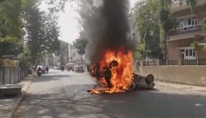 Protests continue in Gujarat over Dalit activist's death, Jignesh Mevani detained