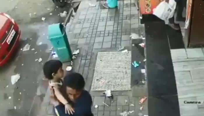 Caught on cam: Shocking footage of 2.5-year-old girl abducted by stranger in daylight