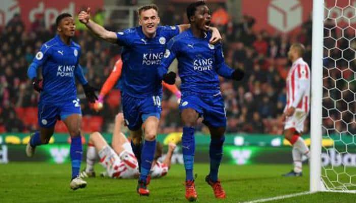 Stoke City goalie errs as Leicester City equalise via own goal in Premier League